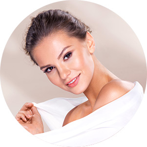 Skin care treatments for the face, neck, decolletage and eye area